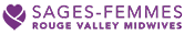 Sages Femmes Rouge Valley Midwives Logo